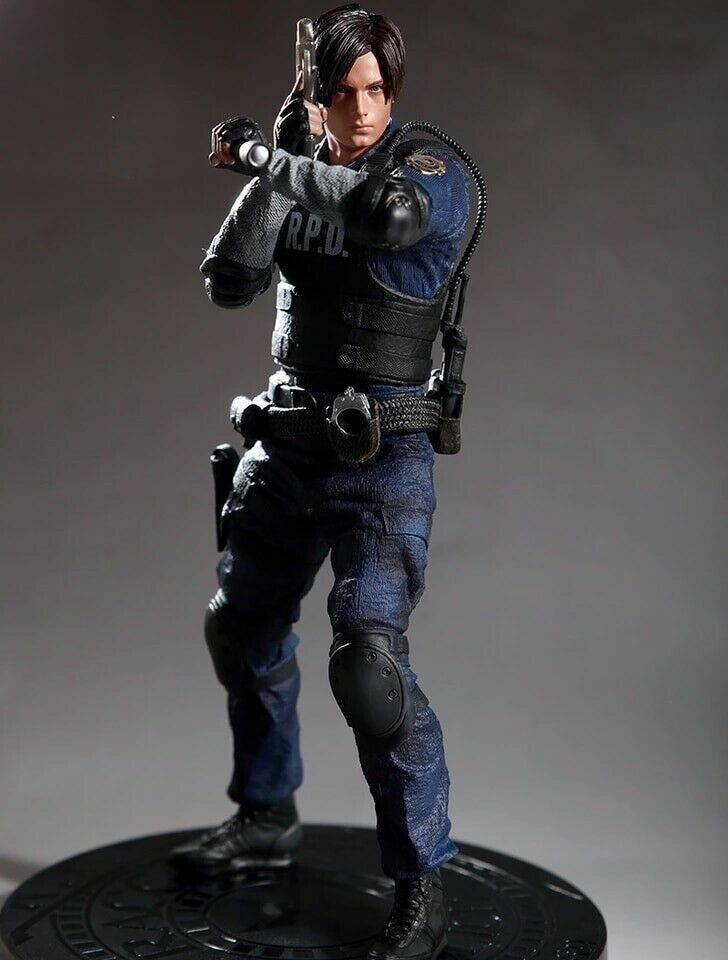 Action Figure From Resident Evil 2 Remake Leon Kennedy