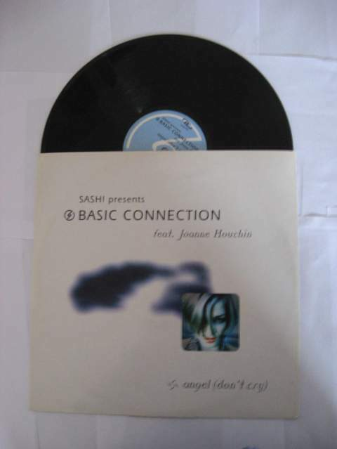 33 giri originale del 1998 - BASIC CONNECTION Angel(don't cry)