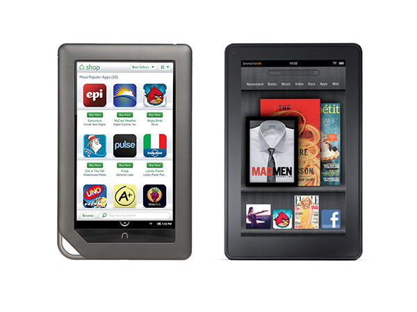 Nook E Reader Vs Kindle: Nook Vs. Kindle
