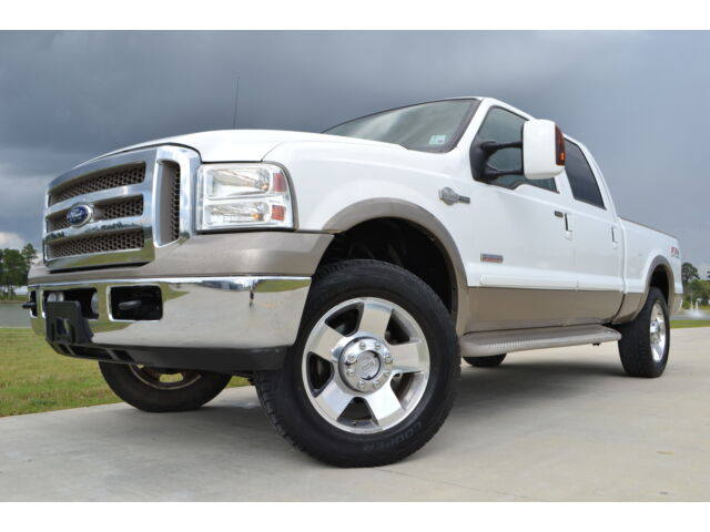 2007 ford f 250 crew cab king ranch fx4 diesel 20 wheels used ford f 250 for sale in baton. Black Bedroom Furniture Sets. Home Design Ideas