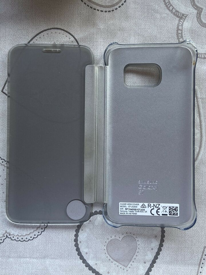 Custodia Samsung Galaxy S7 clear view 5