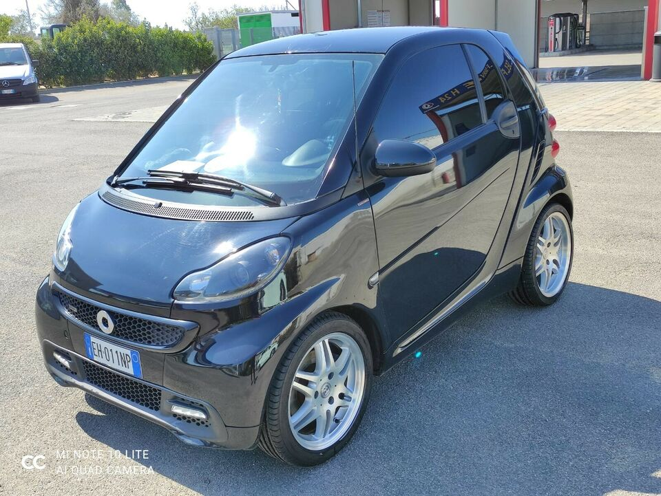 SMART ForTwo 1000 52 kW MHD coupé pure Kit BRABUS
