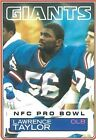 Ungraded Football Trading Cards Lawrence Taylor