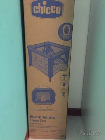 Box quadratro Open Sea CHICCO