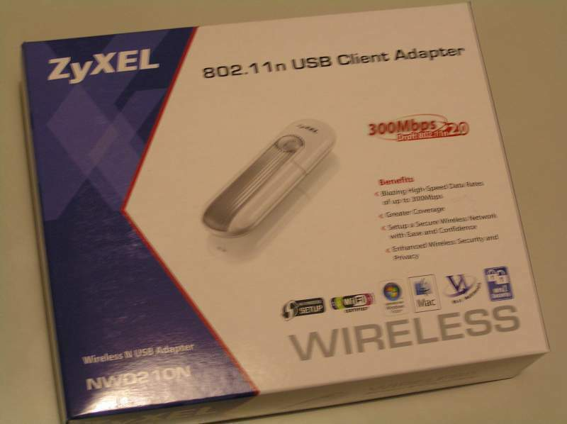Adattatore usb wireless zyxel 802.11n
