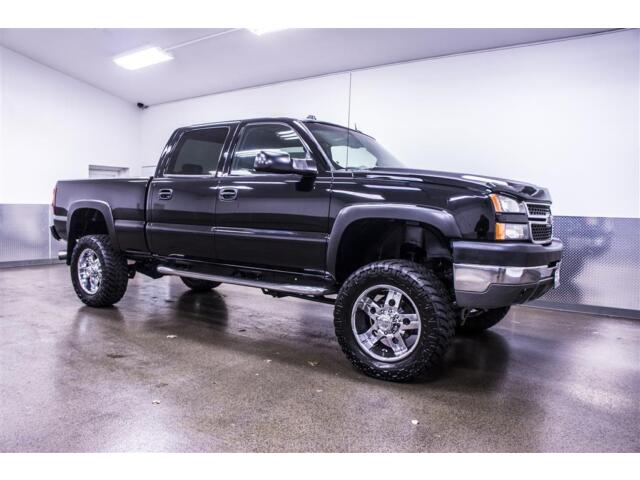 lifted 2005 chevrolet silverado 2500hd lt 4x4 6 6l duramax diesel w tow package ebay. Black Bedroom Furniture Sets. Home Design Ideas