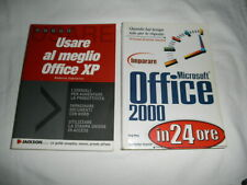 2 Libri su Ms Office, praticamente come nuovi