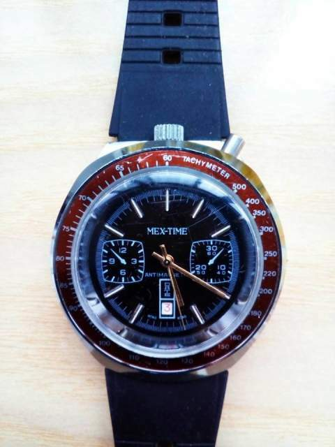 Orologio Mex-Time antimagnetic