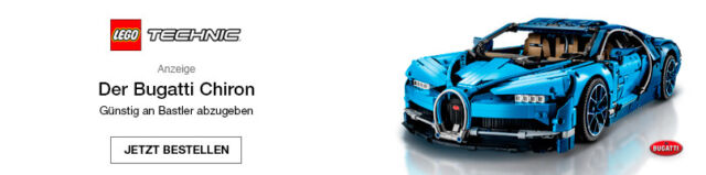 Der Bugatti Chiron. Günstig an Bastler abzugeben.