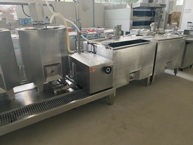 Complete industrial line for gelato industry used 3