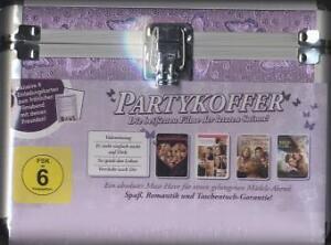 Girls Partykoffer: Valentinstag - So spielt das Leben - Verrückt...- 4 DVD - Neu