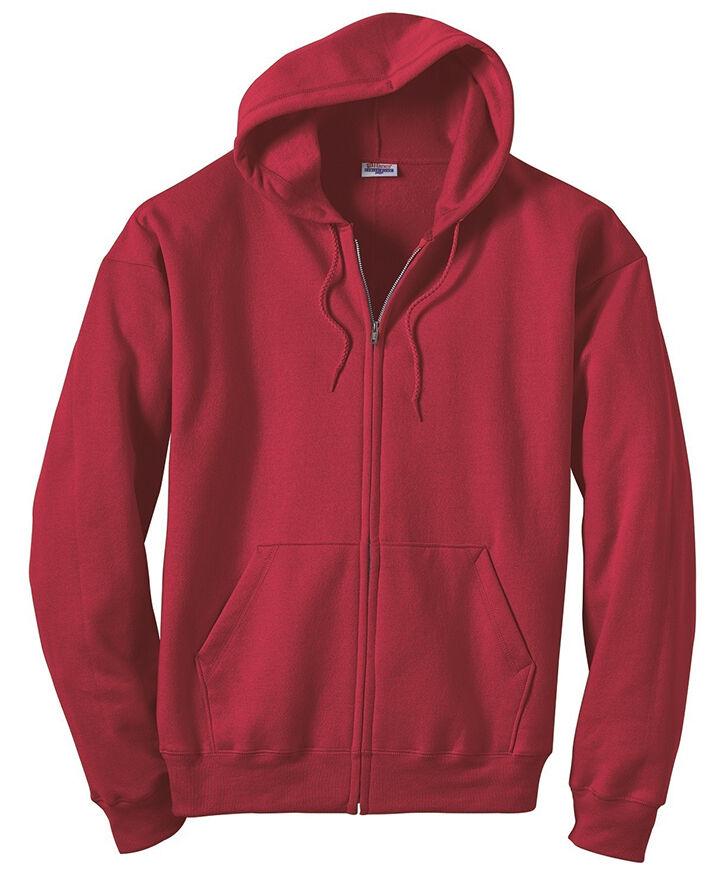 Hanes Full-Zip Hooded Sweatshirts