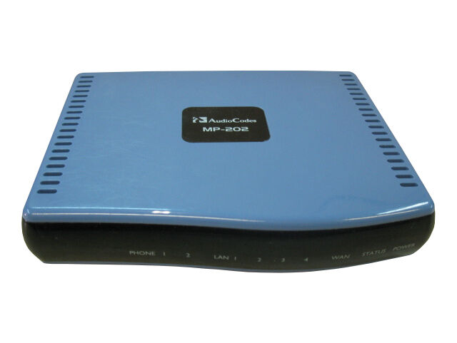 Audiocodes MP202 VoIP Adapter