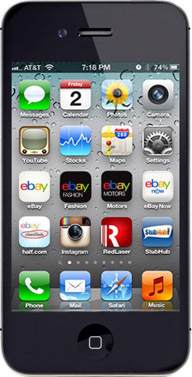 Apple  iPhone 4s - 8 GB - Black - Smartphone