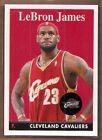 Topps Chrome LeBron James NBA Basketball Trading Cards