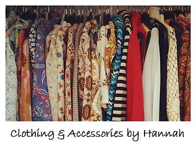 Clothing and Accessories by Hannah