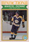 Autographed Hockey Trading Cards Marcel Dionne