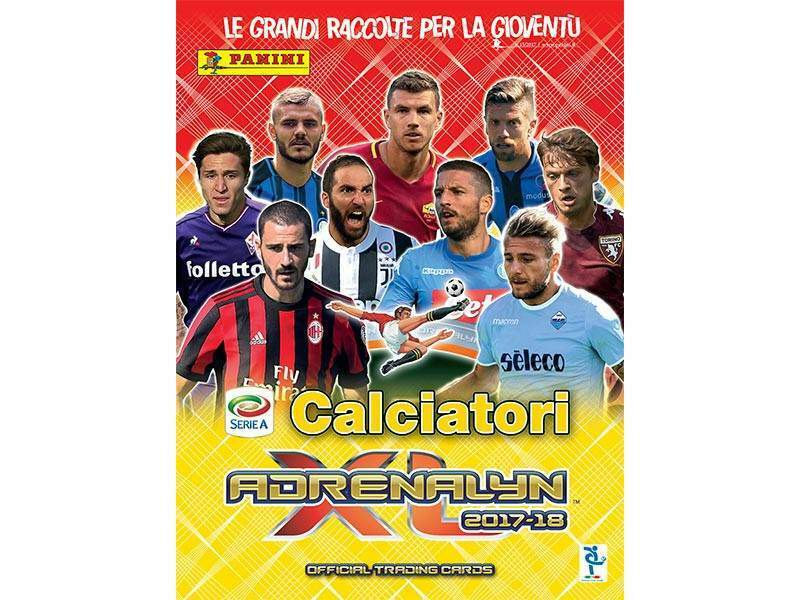 Card figurine adrenalyn calciatori 2017/2018