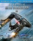 Star Trek Into Darkness (Blu-ray/DVD, 2013, 2-Disc Set, Canadian)