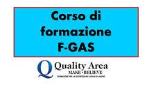 Patentino Frigoristi FGAS - NUORO
