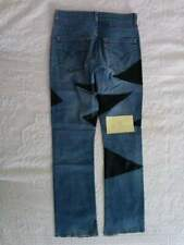 Jeans custom strappi modificati