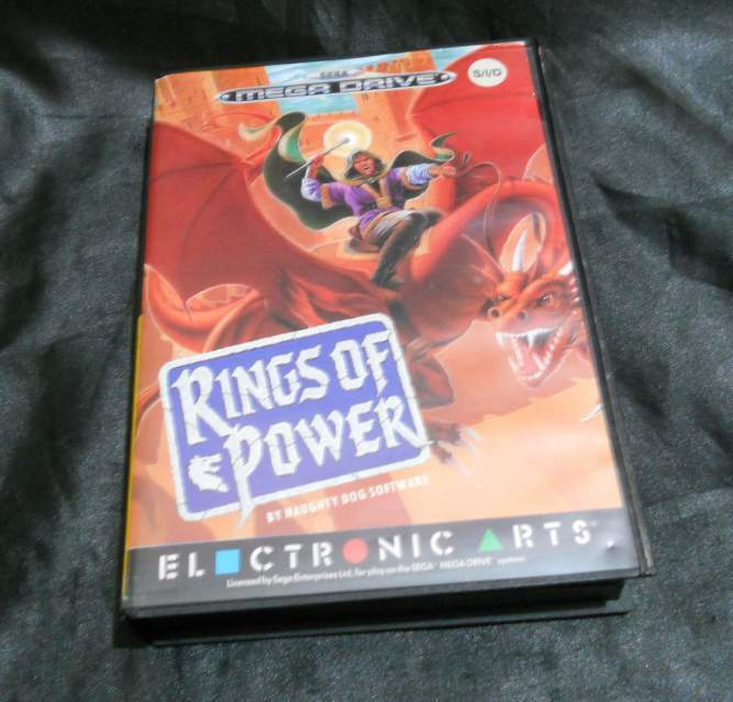 Rings of Power gioco di ruolo Megadrive