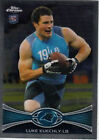 Single Football Trading Cards Luke Kuechly