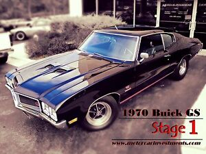 1970-Buick-Skylark-Gran-Sport-GS-Documented-Stage-1-matching-car-455-Auto-Coupe