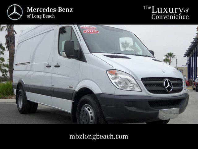 2012 sprinter 3500 cargo 87 miles white cpo certified for Mercedes benz pre owned vehicle locator