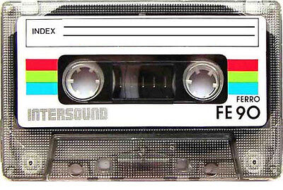 ONLY Vintage Cassette Tapes