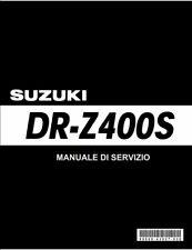 Manuali officina x Suzuki DRZ 400S-E-SM ITALIANO