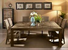 Tavolo quadrato in legno vecchio di olmo 200x200 Cod.12032Q