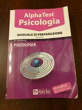 Manuale di psicologia Alpha Test