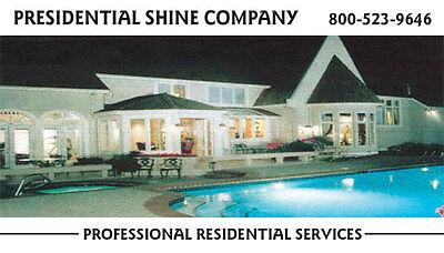 Presidential Shine Co