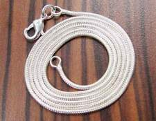 "Designer 925 silver overlay necklace/chain 19"" & width 2.5mm"