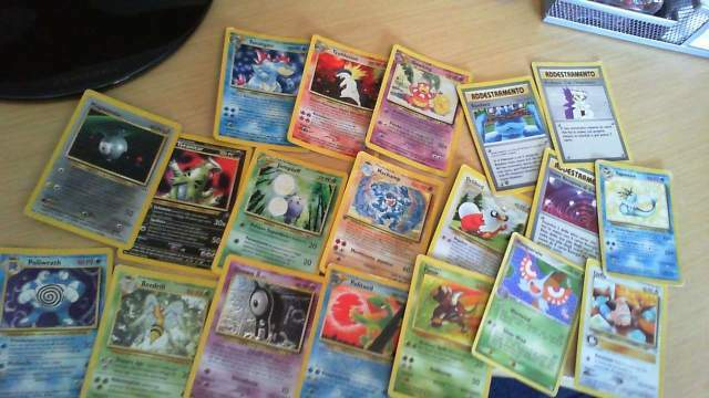 Carte pokemon rare e super rare