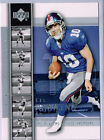 Rookie Eli Manning Football Trading Cards Lot