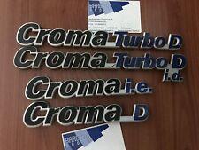 Fregio scritta Fiat Croma Turbo d - ie - d posteriore