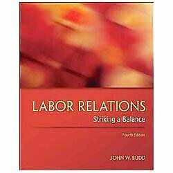 labor relations striking a balance 4th edition free pdf