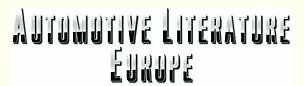 AUTOMOTIVE LITERATURE EUROPE