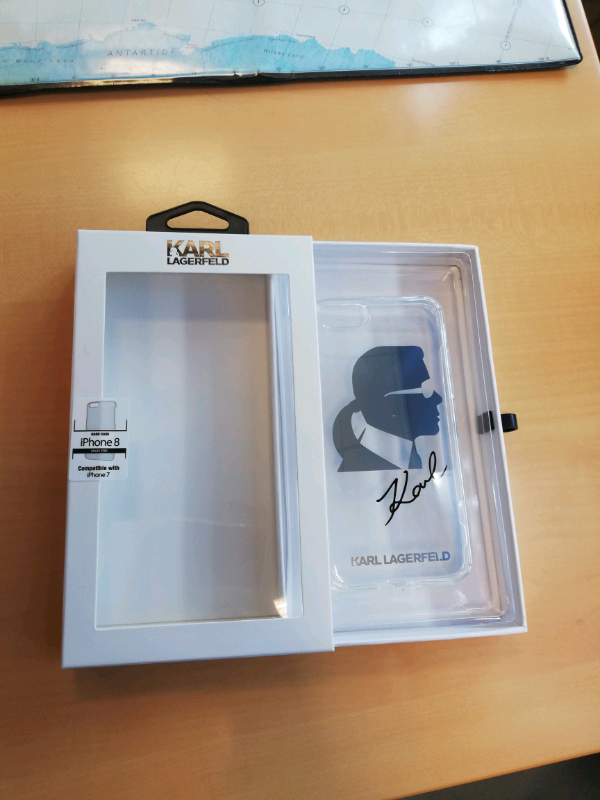 Cover iPhone 7-8 Karl Lagerfeld 2