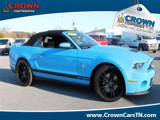 2011 ford mustang shelby gt500 certified 6 speed convertible v 8 blue nav certified pre. Black Bedroom Furniture Sets. Home Design Ideas