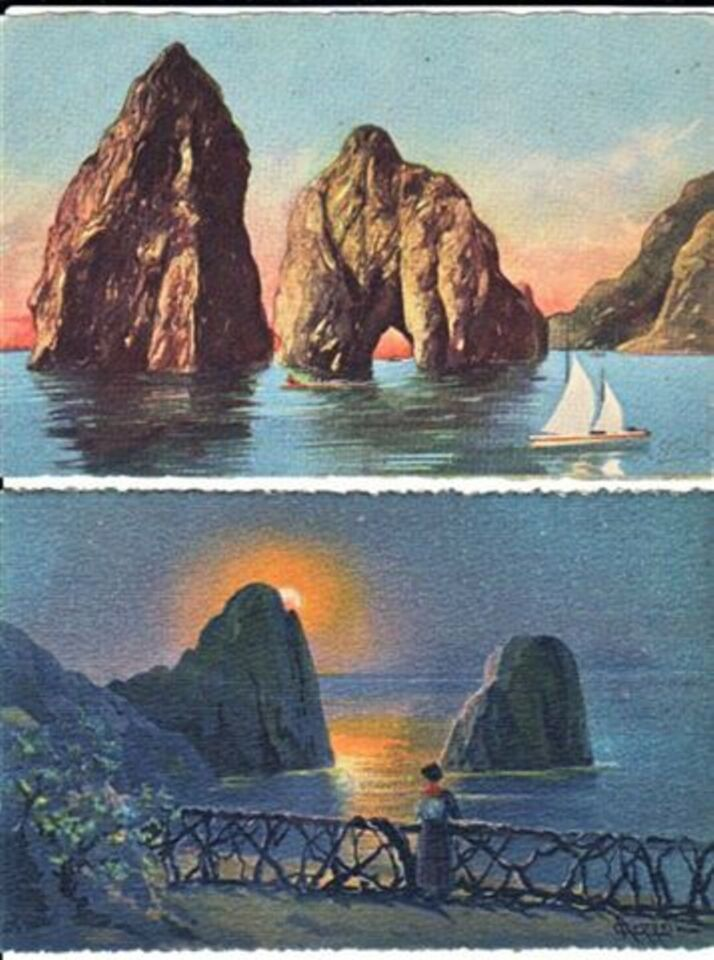 Cartoline illustrate da collezione, italiane ed estere