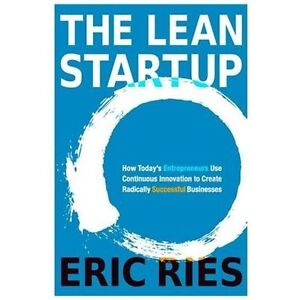 The Lean Startup: Hardcover Book w/ Dust Jacket New-Mint Eric Ries 2011