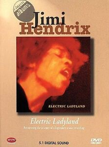 classic albums jimi hendrix electric ladyland dvd rhino like new 81227574727 ebay. Black Bedroom Furniture Sets. Home Design Ideas