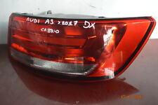 Fanale stop dx audi a3 2017 in poi cabrio no led