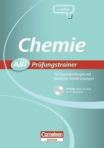 Abi Prüfungstrainer Chemie CD-ROM Cornelsen NEU Abitur Lernhilfe 9783589225316