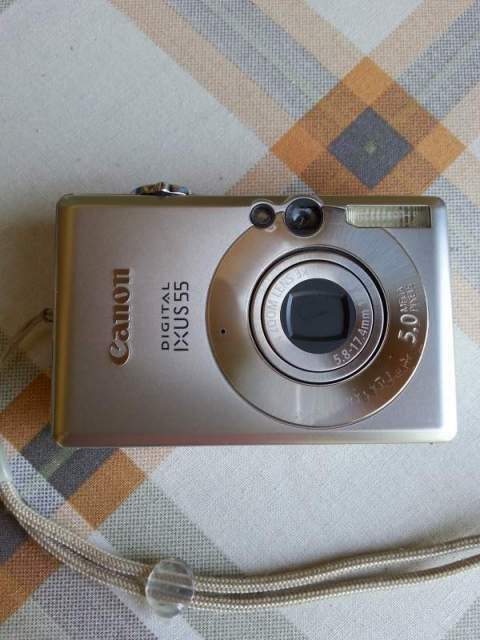 Canon digital ixus55