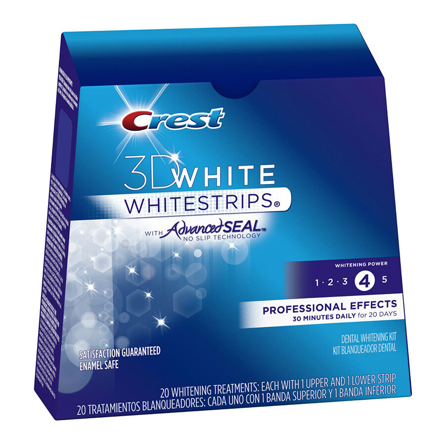 Crest Whiteing Strips imported from the USA give professional teeth whitening results without paying the dentist prices. Get Pearly Whites in just 10 days!