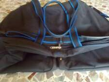 Borsone marca Samsonite nero bordi blu